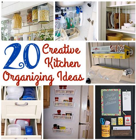 creative ideas for kitchen 20 creative kitchen organizing ideas s home