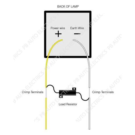 led resistor for 230v led auto ls led load resistor 12v lr12 pb auto electrics commercial leisure products