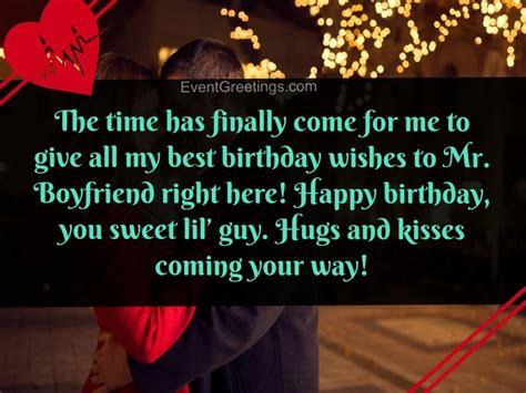 birthday wishes  boyfriend    day special