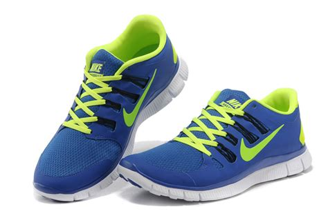 nike running shoes blue and green wholesale nike free 5 0 mens blue fluorescence green