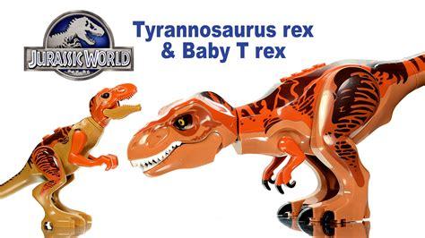 Lele Dinosaur World Jurassic World jurassic world tyrannosaurus rex baby t rex lego