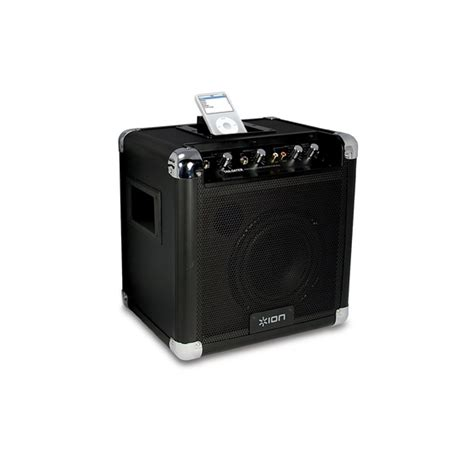 Ions New Cd Playerusb Turntable And Ipod Projector by New Ion Ipa07 Tailgater Portable Pa Ipod Speaker