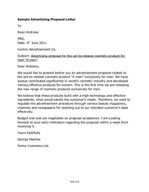 Offer Letter Sle For A Product Letter Sle