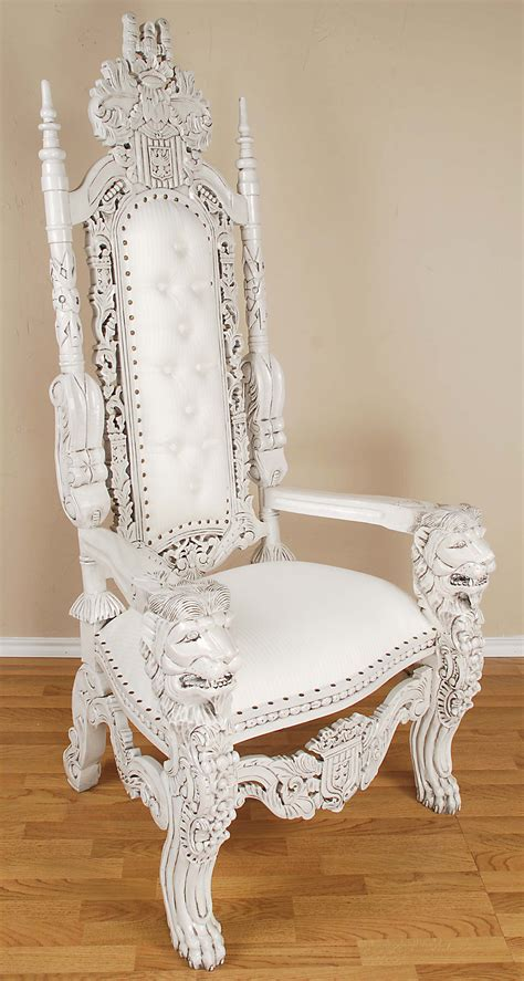white throne chair white throne chair tjihome