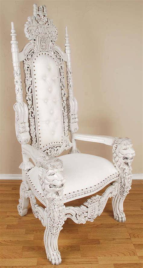 white throne chair white throne chair tjihome