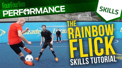 skill football freestyle tutorial rainbow flick skill tutorial with dc freestyle football