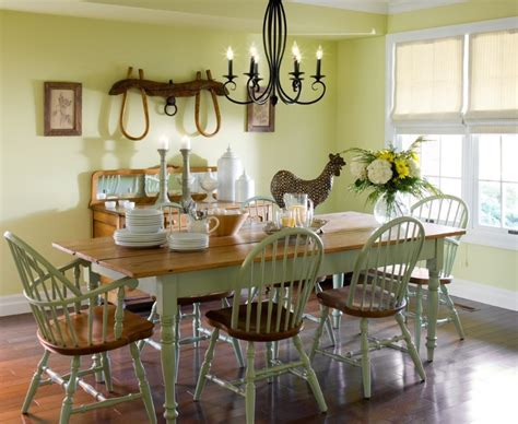 Dining Room Ideas Country Country Dining Room Decor With Antler Chandeliers