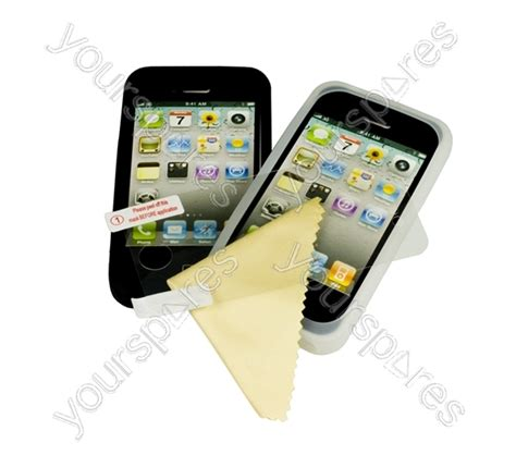 Screen Protectors M A K iphone 4 protector pack ipp201 by logic3