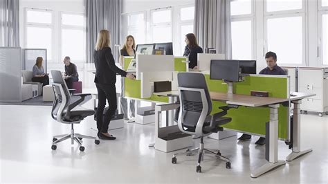 steelcase standing desk ology ergonomic adjustable office desk steelcase
