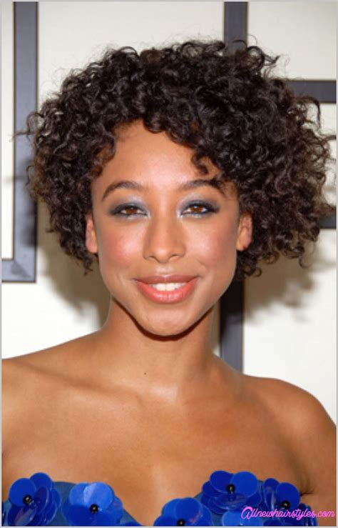 pictures of black women with natural curls and a devastyle cut short cut natural curly hairstyles allnewhairstyles com