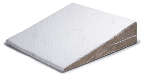 acid reflux full length half bed wedge pillow topper w avana bed wedge acid reflux memory foam pillow