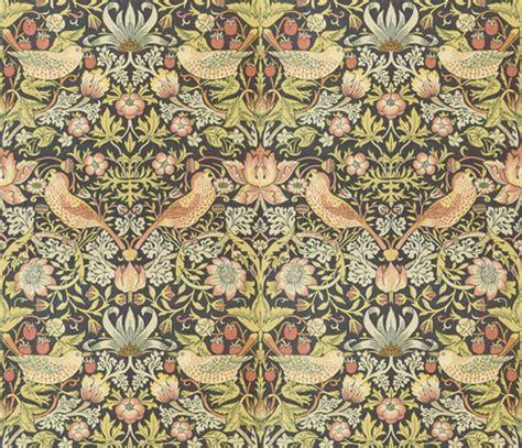 Morris Custom Upholstery by William Morris Strawberry Thief Wallpaper