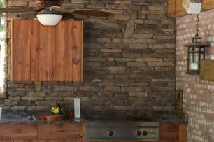 Houzz Kitchens Backsplashes walnut ledge stone kitchen back splash