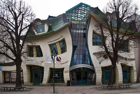 house poland amazing planet crooked house krzywy domek poland