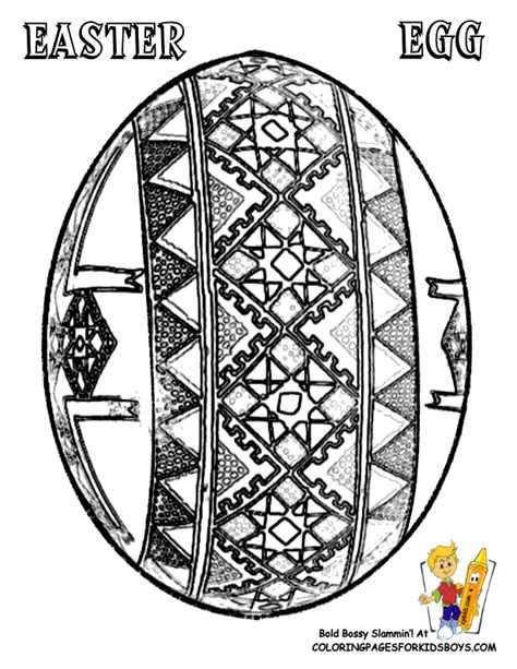free coloring pages of ukrainian egg designs