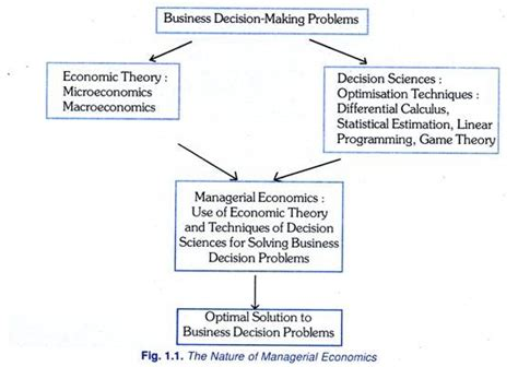 the economics of managerial decisions what s new in economics books business decision problems with diagram