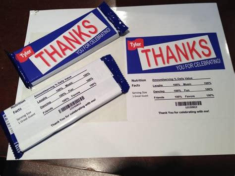 Bar Mitzvah Giveaway Ideas - custom bar mitzvah giveaway candy favor labels customer