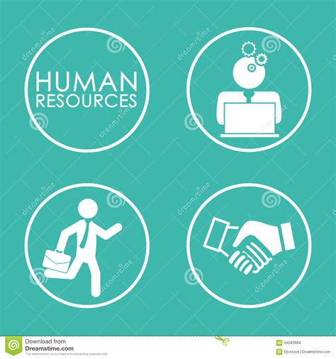 design resources human resources design stock vector image 64583668