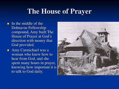 god s house of prayer ppt amy carmichael her mother and siblings powerpoint presentation id 415451
