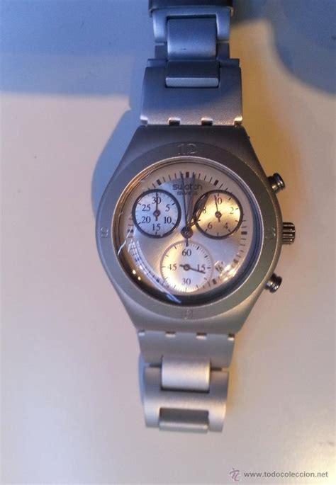 swatch irony aluminium water resistant ag 2004 comprar