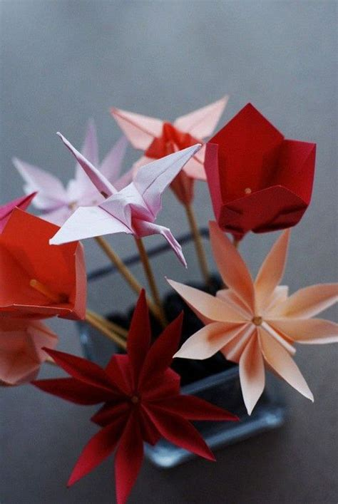 40 Origami Flowers You Can Do Flower Design And Chang E 3