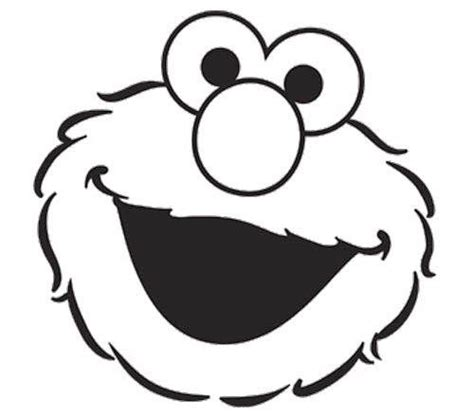 elmo face coloring page birthday coloring pages sesame