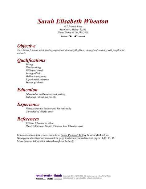 housekeeping skills for resume resume ideas