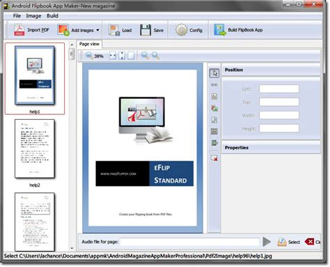 android themes maker software eflip flipbook maker for ipad convert pdf ms office