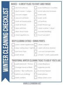 Clean Bedroom Checklist free winter cleaning checklist clean mama