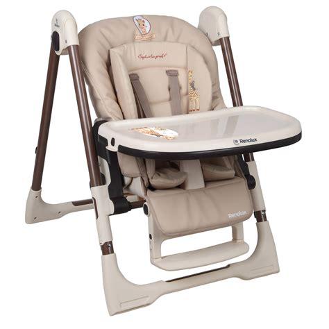 reducteur chaise haute chaise haute b 233 b 233 vision avec r 233 ducteur la girafe