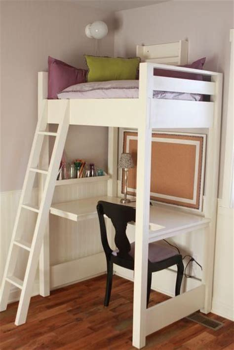 how to fit a desk in a small bedroom kid sized reading loft with desk small enough to fit in