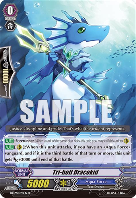 Kartu Cardfight Vanguard Edge Dracokid R dracokids cardfight vanguard wiki