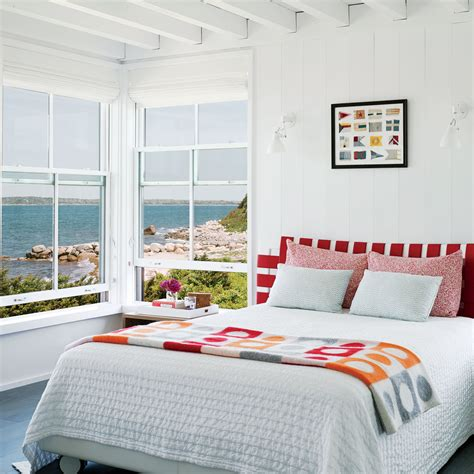 beachy rooms room with a view 30 beautiful beachy bedrooms coastal living