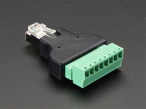 rj45 end of line resistor new products terminal blocks 1 4 6 35mm stereo ethernet rj45 socket push