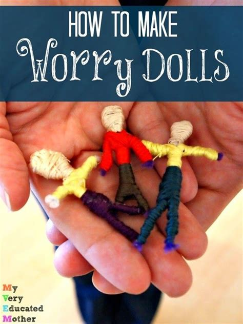 how to make my a therapy 17 best ideas about worry dolls on clothespin