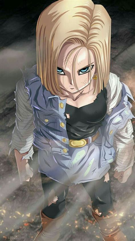 Pin de Manu Larios em Androide número Anime Dragon