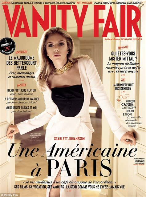 Vanity Fairr by Johansson Graces The Cover Of The Issue Of