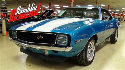 1969 camaro z28 blue 1969 chevrolet camaro z28 rs tribute lemans blue four