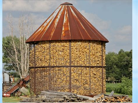 How To Build A Corn Crib by A Corn Crib Into A Gazebo The Purple Painted