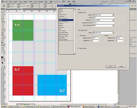 change layout to landscape in indesign how to match my layout grid with my margins columns and