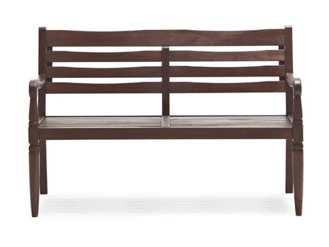 amazon benches amazon com strathwood redonda hardwood 2 seater bench