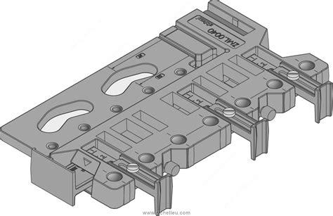 Blum Universal Drilling Template Richelieu Hardware Blum Boring Template
