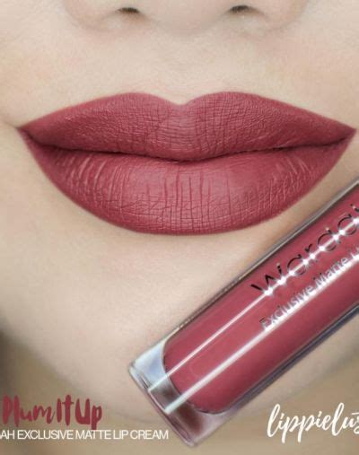 wardah exclusive matte lip product
