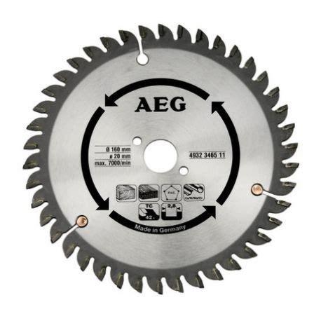 Scie Circulaire 42 by Aeg Lame De Scie Circulaire 42 Dents 160 Mm