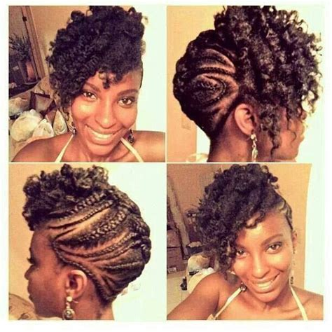 natural mohawk front view hairgoals2014 pinterest 285 best images about twist dreads braids for every