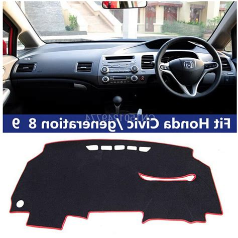 Cover Dashboard Honda Civic Ferio Karpet Dashboard Civic Ferio Untuk dashmats car styling accessories dashboard cover for honda civic si type r 2006 2015 8th 9thfor