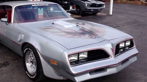 1977 400 4 speed trans am t a 6 6 match red line muscle