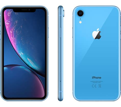 apple iphone xr  gb blue fast delivery currysie