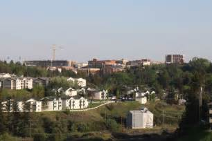 The washington state university campus seen from the north in may 2012