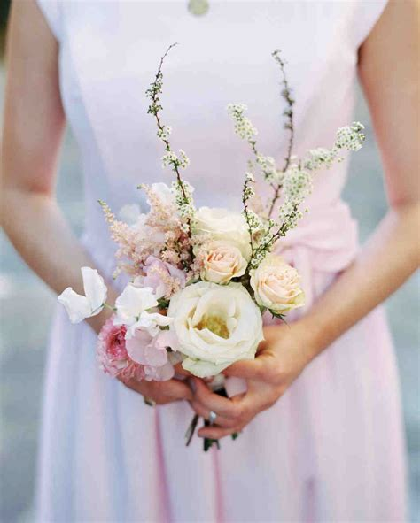 Small Bridesmaid Bouquets by 38 Ideas For Your Bridesmaids Bouquets Martha Stewart